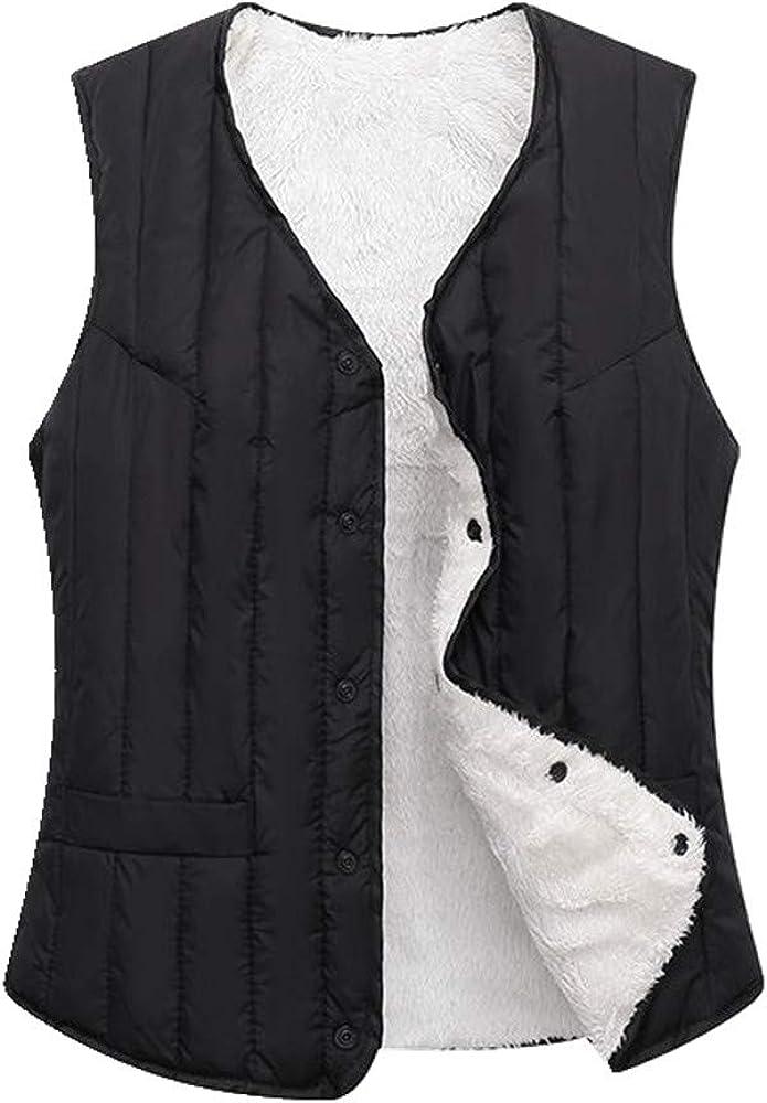 Otoño e invierno abajo chaleco de algodón para mujer calidez mantener la mediana edad y ancianos chaleco corto de mujer gruesa chaqueta de hombro