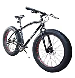Corsa Alton Mammoth 26' Wheel 7-Speed Alloy Frame Bike, Black, 20'/Large