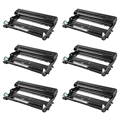 Ink Unit (SuperInk 6 Pack Compatible Drum Unit Replacement For Brother DR420 DR 420 High Yield use with HL-2270DW HL-2280DW HL-2230 HL-2240 HL-2240D MFC-7860DW MFC-7360N DCP-7065DN)