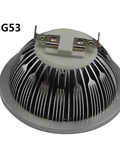 HJLHYL MND Focos AR111 GU10 / G53 / E26/E27 7 W 7 LED de Alta Potencia 700LM LM Blanco C¨¢lido / Blanco Fresco AC 85-265 / DC 12 / AC 12 V, e26/e27-cool ...