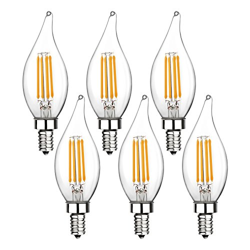 Led Candle Light Bulbs Cool White in US - 1