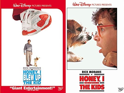 Disney Honey Big & Small 1 & 2 I Shrunk The Kids & Blew Up The Kid! Double Feature Pack