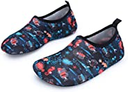JOINFREE Kids Boys Girls Water Shoes Barefoot Aqua Socks for Beach Swimming Pool Quick -Dry Unisex