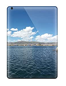 8409840K72719537 Hot Fashion Design Case Cover For Ipad Air Protective Case (titicaca Lake)