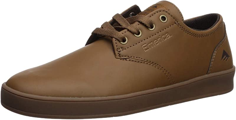 Emerica The Romero Laced Sneakers Herren Glattleder Braun/Tan