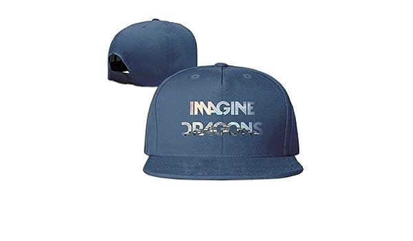 Hittings Imagine Dragons Night Visions Unisex Fashion Cool Adjustable Snapback Gorra de b/éisbol Tiene One Size Marina