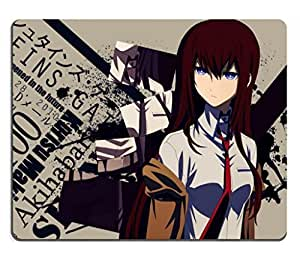 Steins Gate 05 Makise Kurisu Anime Game Gaming Mouse Pad by mcsharks