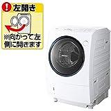 東芝 ドラム式洗濯乾燥機(ヒートポンプタイプ) 左開きタイプ グランホワイト TW-96A5L(W) TW-96A5L(W)