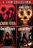 Cabin Fever 1&2 & Descent 1&2 [DVD] [Region 1] [US Import] [NTSC]