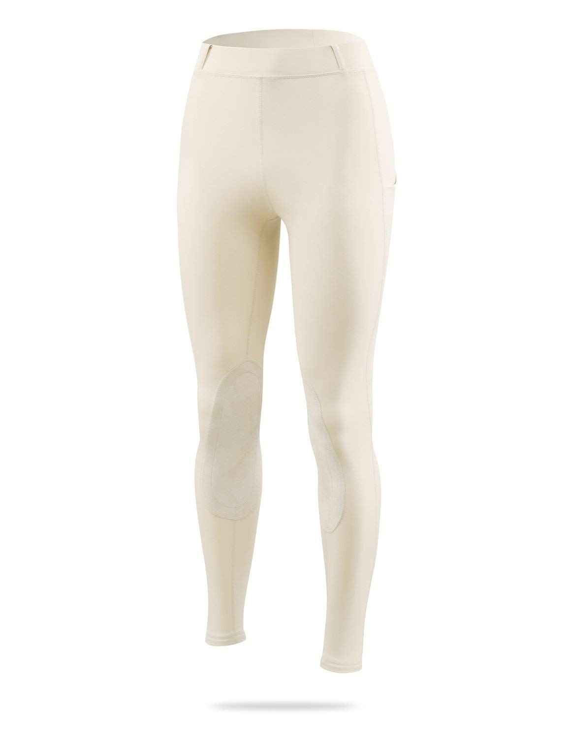 Details about  /BALEAF Women/'s Riding Tights Horse Pants Equestrian Breeches Knee Patch Grip ...
