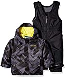 Columbia Baby Buga Snow Set, Black Print/Mineral Yellow, 12-18 Months
