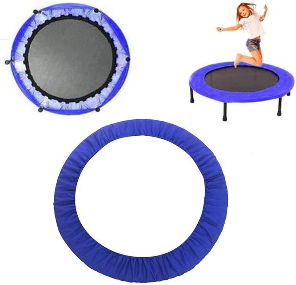 Luckyx Replacement Trampoline Surround Pad Spring Cover Padding Safety Guard Easy Installation Trampoline Cover Protector With Sturdy Mounting Belt For Children