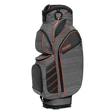 OGIO Stinger 15-Way Top Golf Cart Bag, Gray Noise/Burst (124054-STGB)