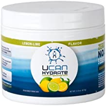 Generation UCAN Hydrate Electrolyte Replacement Drink, (30) Serving Canister - Lemon-Lime