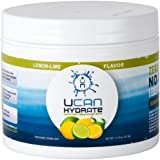 UCAN Hydrate Electrolyte Replacement Drink (30) Serving Canister Lemon-Lime