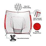 Pinty Baseball and Softball Practice Net 7×7ft