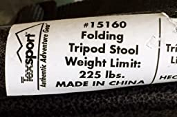 Amazon Com Texsport Portable Outdoor Folding Tripod