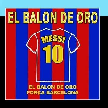 Messi - El Balon De Oro by El Tigre Ariel Y Su Banda : El Tigre ...
