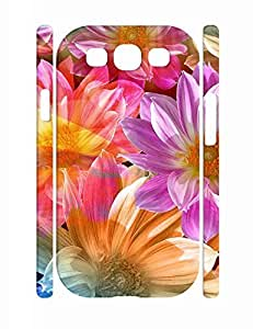 Charming Flower Pattern Personalized Handmade Samsung Galaxy S3 I9300 Hard Phone Case