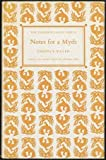 Notes for a Myth, Terence Tiller, 0701203080