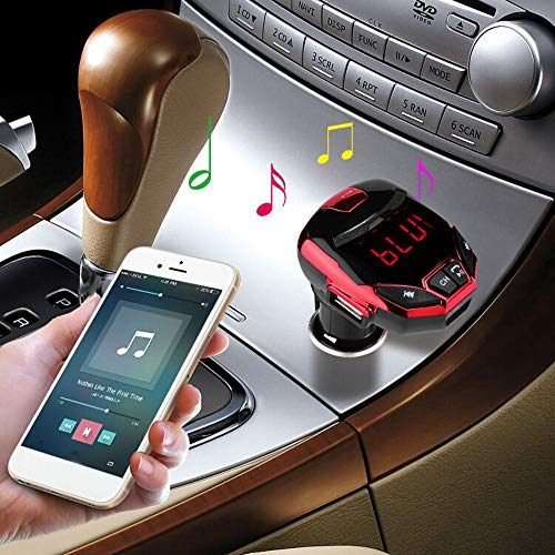 US Fast Shipment Tuscom Car MP3 Player,Support USB Disc SD Card,Smart Phone Charging (Red)