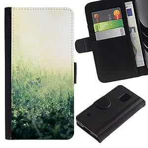 iBinBang / Flip Funda de Cuero Case Cover - Planta Naturaleza Forrest Flor 38 - Samsung Galaxy S5 V SM-G900