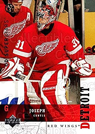 Amazoncom Ci Curtis Joseph Hockey Card 2002 03 Ud Superstars