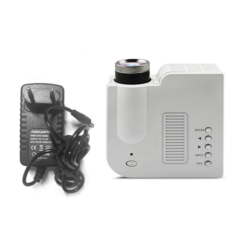 UC28B Mini portá til LED Proyector 1080P Familia Cine Home Theater USB TF Tarjeta de Entrada Mini Beamer Soporte PC portá til Erduo