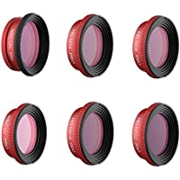 NEW Filter For DJI MAVIC Air PRO Lens Filters UV CPL ND4 ND8 ND16 ND32 Filter kit MAVIC Air Drone Camera Accessory (UV+CPL+ND4+ND8+ND16+ND32)