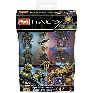 Mega Construx Halo UNSC Marine Defense, Multi Color