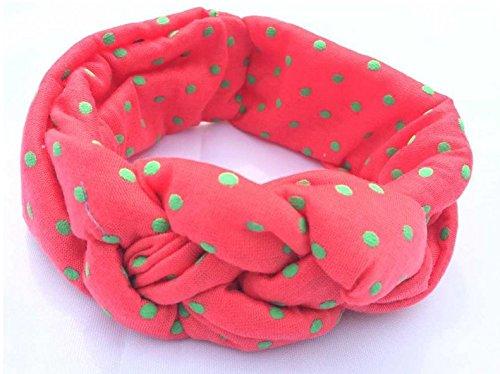 Elastico Twist Archi Knot Per Accessori Neonate Pi Hair Capelli I Headband Weimay Ug5RpwWx