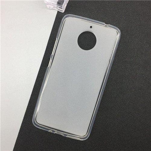 Parallel Universe Motorola Moto E4 Plus Back Cover Case Soft Flexible Frosted TPU backcover   Transparent