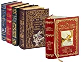 """4 Volume Leatherbound Fantasy Collection - The Chronicles of Narnia, Grimm's Complete Fairy Tales, Hans Christian Anderson Complete Tales and Stories, and, The Complete Works of Lewis Carroll"" av Brothers Grimm"