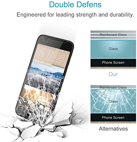 Ruanmaoshi Mobile Accessory 100 PCS 0.26mm 9H 2.5D Tempered Glass Film for HTC Desire 830 Phone Tempered Glass Film