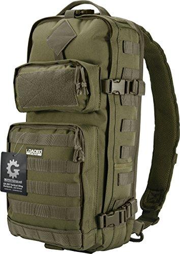 Barska Loaded Gear GX-300 Tactical Sling Backpack, Green