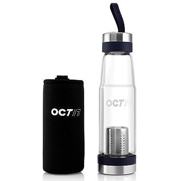 Simplemente plata – Filtro de la botella de agua – al aire libre deporte botella de