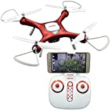 Blomiky X25W WIFI FPV One Position Hovering Optical Follow RC Quadcopter Drone With HD 720P WIFI FPV Camera X25W