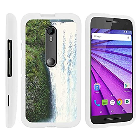 Moto G 2015 Case, Slim Fit Snap On Cover with Unique, Customized Design for Motorola Moto G (2015) XT1540, XT1548 by MINITURTLE - Beautiful (Water Cover Motorola)
