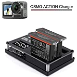 Ocamo for DJI Osmo Action Camera Charging Hub Battery Intelligent Charging Charger Hub