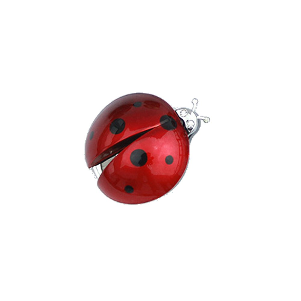 HJJH Car Perfume, Car Air Conditioner Export Lovely Ladybug Air Freshener Will Move The Antennae Beetle Decoration Car Styling,Red,One by HJJH