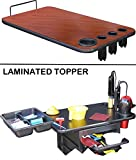 110 Salon Laminated Top w/Tool Holder Cherry Lam. for Dina Meri Salon Rollabouts