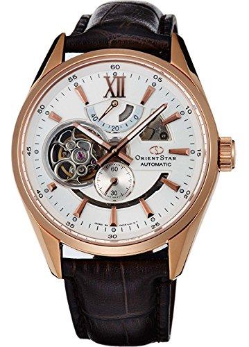 ORIENT watch ORIENTSTAR Orient Star modern skeleton mechanical self-winding white WZ0211DK Men