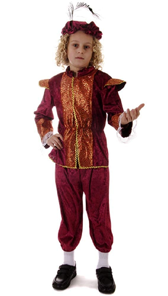 Roman Emperor Boy Toga childrens fancy dress costume outfit world book day