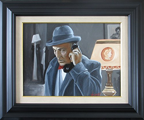 film-noir-oil-painting-framed-movies-on-canvas-by-valenti-art-rom-ireland-free-worldwide-shipping