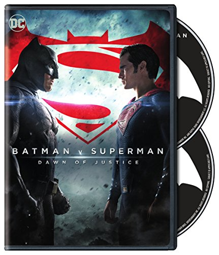 DVD : Batman V Superman: Dawn Of Justice (Special Edition, Eco Amaray Case, 2 Pack, 2 Disc)