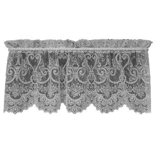 Heritage Lace English Ivy 60-Inch Wide by 22-Inch Valance, White by Heritage Lace