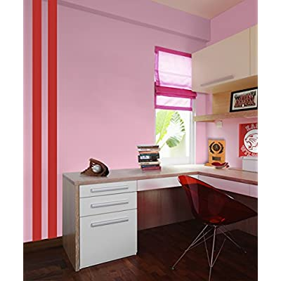 Borders Unlimited Red Simple Stripes: Home & Kitchen