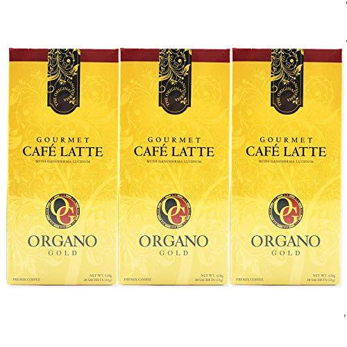 3 Box 100% Certified Organic Organic Ganoderma Gourmet Organo Gold Cafe Latte Offer Free Express