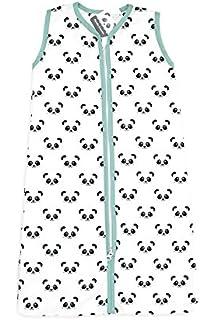 Briljant Baby fwzomerslaapzak070panda03r Saco de dormir de verano con cremallera con Panda, 70 cm,