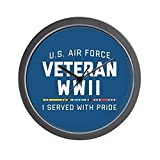 Best World Pride Alarm Clocks - CafePress - Air Force Veteran WWII Pride Review